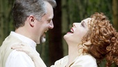 Stephen R. Buntrock as Fredrik Egerman and Bernadette Peters as Desiree Armfeldt in A Little Night Music.