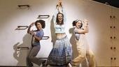 "Halle Morse as Lisa, Liana Hunt as Sophie Sheridan and Traci Victoria in 'Mamma Mia!"""