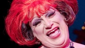 Harvey Fierstein as Albin in La Cage aux Folles.