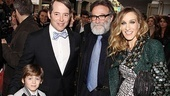Catch Me If You Can Opening Night – Matthew Broderick – Sarah Jessica Parker – James Wilkie Broderick – Robin Williams