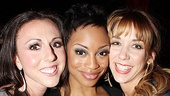 Catch Me If You Can Opening Night – Kristin Piro – Candice Marie Woods – Sara Andreas