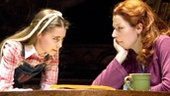 Rachel Resheff as Jenny and Nicole Parker as Red in People in the Picture.