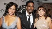 2011 Tony Awards Red Carpet – Malaak Compton Rock - Chris Rock - Elizabeth Rodriguez