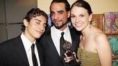2011 Tony Awards Winners Circle – Jake Cannavale – Bobby Cannavale – Sutton Foster