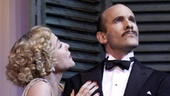 Kim Cattrall as Amanda and Simon Paisley Day as Victor in Private Lives.