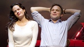 Elizabeth Reaser as Li'l Bit and Norbert Leo Butz as Uncle Peck in How I Learned to Drive.