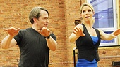 Nice Work If You Can Get It – Rehearsal – Matthew Broderick – Kelli O'Hara