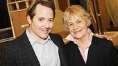 Nice Work If You Can Get It – Rehearsal – Matthew Broderick – Estelle Parsons