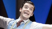 Michael Urie as Bud Frump in How to Succeed in Business Without Really Trying.