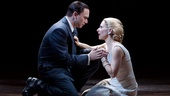 Michael Cerveris as Juan Peron and Elena Roger as Eva Peron.