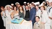 Anything Goes – Joel Grey Birthday – cast – Bernadette Peters – Joel Grey