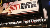 Don't Dress For Dinner – Opening Night – marquee