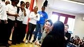 How to Succeed – Nick Jonas School Visit – Nick Jonas – students – teacher