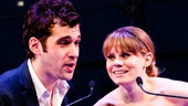 2012 Audience Choice Awards – Ceremony Photos – Adam Chanler-Berat - Celia Keenan-Bolger