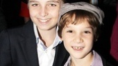 Ethan Khusidman (Usher) and Zachary Unger (Young Charlie) get to stay up late!