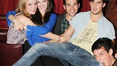 Carrie- Listening Party- Jennifer Damiano- Meghann Fahy- Adam Chanler-Berat –Wesley Taylor- Preston Sadleir