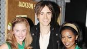 Reeve Carney Visits 'Bring It On' — Taylor Louderman — Reeve Carney — Adrienne Warren