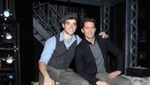 Newsies star Corey Cott welcomes Tony nominee Matthew Morrison back to Broadway.