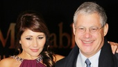 Les Miserables London premiere – Frances Ruffelle – Cameron Mackintosh