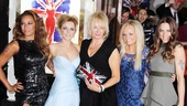 Viva Forever opening night – Melanie Brown – Geri Halliwell – Emma Bunton – Melanie Chisholm – Judy Craymer