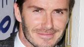 Viva Forever opening night – David Beckham