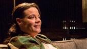 Danielle Skraastad as D.K. Ericksen, David Conrad as Professor August Howe and Lisa Joyce as Dr. Jean Loggins in The Mound Builders.