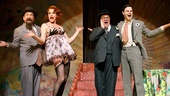 Lewis J. Stadlen as Efram, Cady Huffman as Sylvie, Nathan Lane as Chauncey Miles and Jonny Orsini as Ned in The Nance.