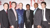 Kinky Boots Opening- Paul Canaan- Charlie Sutton- Kyle Post- Kyle Taylor Parker- Kevin Smith Kirkwood- Joey Taranto