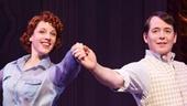 Jessie Mueller as Billie Bendix & Matthew Broderick as Jimmy Winter in Nice Work If You Can Get It.