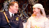 John Treacy Egan as Chief Berry & Jennifer Laura Thompson as Eileen Evergreen in Nice Work If You Can Get It.