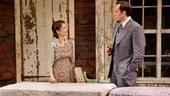 Kathryn Erbe as Natasha Nabokov and Stephen Kunken as Nikolai Nabokov in Nikolai and the Others.
