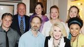 Joan Rivers and Tab Hunter at Vanya – Joan Rivers – Shalita Grant – Kristine Nielsen – David Hyde Pierce – Billy Magnussen – Sigourney Weaver – Liesel Allen Yeager – Tab Hunter