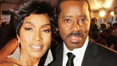 Tony Red Carpet- Angela Bassett- Courtney B. Vance
