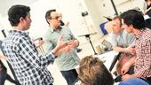 'First Date' Rehearsal — Alan Zachary — Michael Weiner — Lee Wilkins — Josh Rhodes