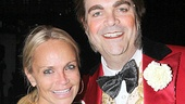 Kristin Chenoweth catches up with Big Fish star Brad Oscar—the pair appeared in a benefit performance of Funny Girl together in 2002.