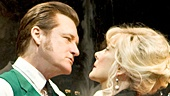 Bill Pullman as Fred Weber & Glenne Headly as Eva White in The Jacksonian