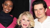 """Joan Rivers knows what's """"in"""" on Broadway: Romeo and Juliet, starring Condola Rashad and Orlando Bloom!"""