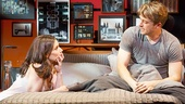 Idina Menzel as Elizabeth and James Snyder as Josh in If/Then