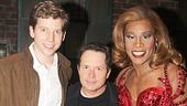 Michael J. Fox Visits Kinky Boots - Stark Sands – Michael J. Fox – Billy Porter