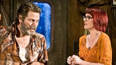 Nick Offerman as Ulysses and Megan Mullally as Emma in Annapurna