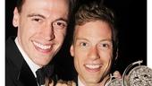 Tony Awards - OP - 6/14 - Erich Bergen - Barrett Foa
