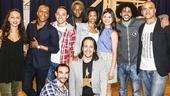 Hamilton - rehearsal - 6/15 - leads