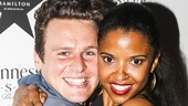 Hamilton - Party - 7/15 - Jonathan Groff - Renee Elise Goldsberry