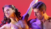 Misty Copeland as Ivy Smith and Tony Yazbeck as Gabey in On the Town
