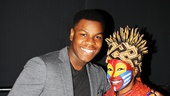 Hot Shots - 12/15 -  - John Boyega and Gugwana Dlaminion