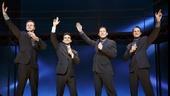 Show Photos - Jersey Boys - 4/16 - Mauricio Perez - Quinn VanAntwerp - Matt Bogart - Richard H. Blake