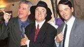 Dirty Rotten Scoundrels new cast opening - Gregory Jbara - Nathan Lane wax - Matthew Broderick wax