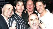 Beauty and the Beast 10th Anniversary - Marc Kudisch - James Barbour - Steve Blanchard - Christopher Sieber - Robert Jess Roth