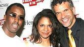 A Raisin in the Sun opening - Sean Combs - Audra McDonald - Brian Stokes Mitchell