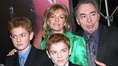 The Phantom of the Opera Movie Premiere - Andrew Lloyd Webber - Madeleine Gurdon - sons